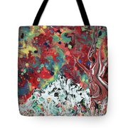 Autumn In Mt. Bascobert National Forest Tote Bag