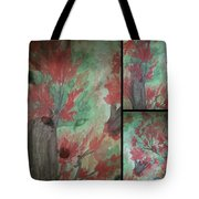 Autumn In My Soul Triptych Tote Bag