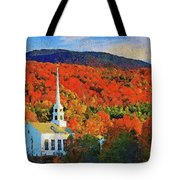 Autumn In New England - 04 Tote Bag