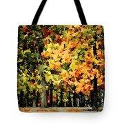 Autumn In Olde Virginia Tote Bag