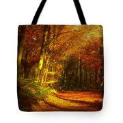 Autumn In Siebengebirge Tote Bag