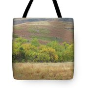 Autumn In Slope County Tote Bag