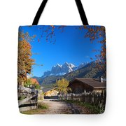 Autumn In South Tyrol Tote Bag