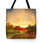 Autumn In The City 2 Tote Bag