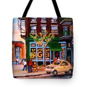 Autumn In The City Tote Bag