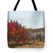 Autumn In The Dunes Tote Bag