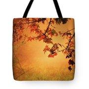 Autumn In The Fog. Tote Bag