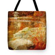 Autumn In The Gardens Tote Bag