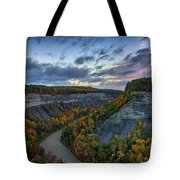 Autumn In The Gorge Tote Bag