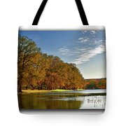 Autumn In The Hill Country Tote Bag