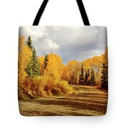 Autumn In The North Tote Bag