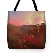 Autumn In The Rolling Hills Tote Bag