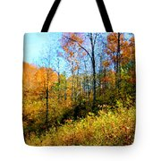 Autumn In The Tennessee Hills Tote Bag