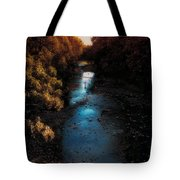 Autumn In The Tributary Tote Bag