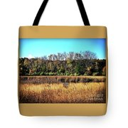 Autumn In The Wetlands Tote Bag