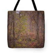 autumn In The Woos Tote Bag