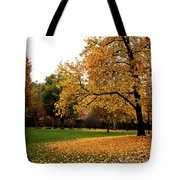Autumn In Turin, Italy Tote Bag