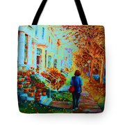 Autumn In Westmount Tote Bag