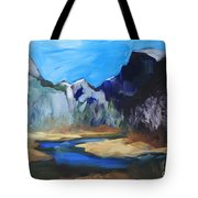 Autumn In Yosemite Tote Bag