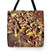 Autumn Is On The Way Tote Bag