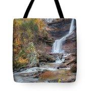 Autumn Kaaterskill Falls Square Tote Bag