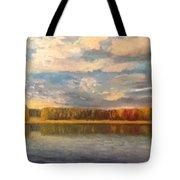 Autumn. Lake. Tote Bag