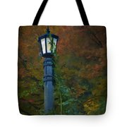 Autumn Lamp Tote Bag