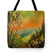 Autumn Landscape 5698 Tote Bag