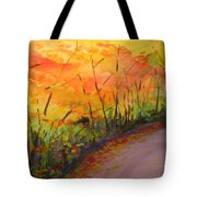Autumn Lane IIi Tote Bag