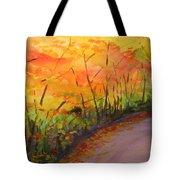 Autumn Lane IIi Tote Bag