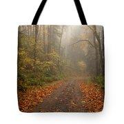 Autumn Lane Tote Bag by Mike  Dawson