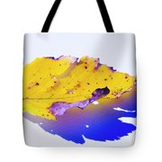 Autumn Leaf Abstract Tote Bag