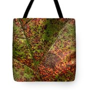 Autumn Leaf Detail Tote Bag