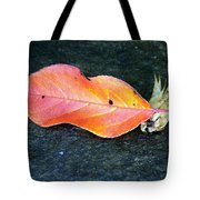 Autumn Leaf In August Tote Bag