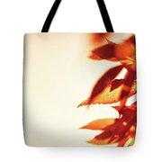 Autumn Leaves Border Tote Bag