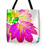 Autumn Leaves Holiday Style Tote Bag