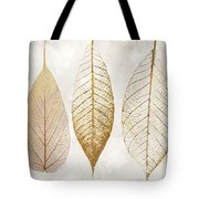 Autumn Leaves IIi Fallen Gold Tote Bag
