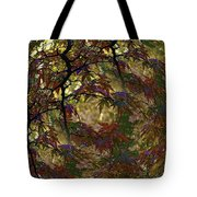 Autumn Leaves In Kyoto Tote Bag