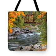 Autumn Leaves Keep Falling Tote Bag