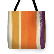 Autumn Lines- Art By Linda Woods Tote Bag