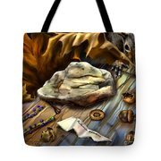 Autumn Memoirs-squirrels In The Attic Tote Bag