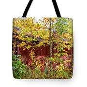 Autumn Michigan Barn  Tote Bag