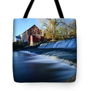 Autumn Mill Portrait Tote Bag