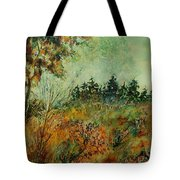 Autumn Mist 68 Tote Bag
