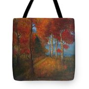 Autumn Mistery Tote Bag