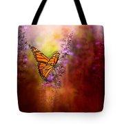 Autumn Monarch Tote Bag