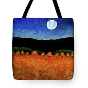 Autumn Moon I Tote Bag