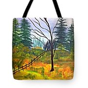 Autumn Morning In The Wild Tote Bag