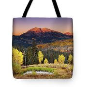 Autumn Mountain Landscape, Colorado, Usa Tote Bag