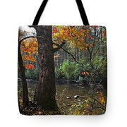 Autumn Mountains Tote Bag